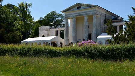 New St Lawrence Church, known as the Palladian Church, Ayot St Lawrence. Picture: Archant