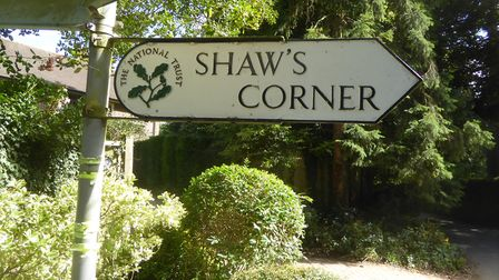 Which way to Shaw's Corner at Ayot St Lawrence? Picture: Alan Davies