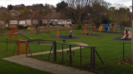 Oakley Road play area is one of four in Harpenden that are now under the control of Harpenden Town C