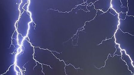The Met Office are warning of thunder storms on the way in the east of the region.