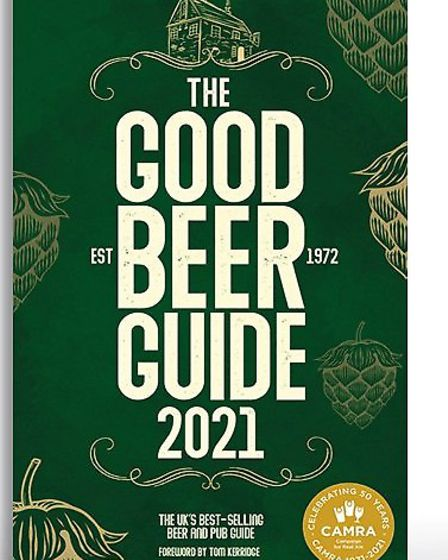 CAMRA's iconic Good Beer Guide 2021