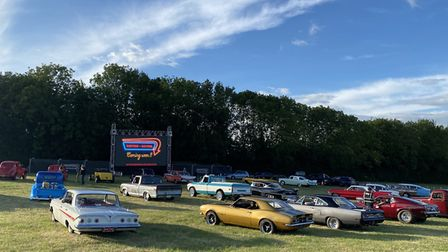 Drivein-Movies organisers have announced films to be screened in August at the Hertfordshire County