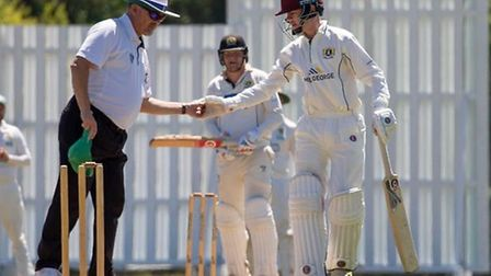 Olly Jeffries scored 83 as Eaton Socon beat Lakenheath in the National Village Cup