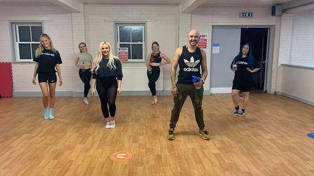 Langdale Dance Arts launched the first socially distanced Dance classes PICTURE: Langdale Dance