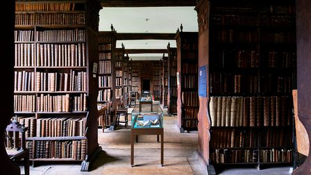 Queens' library. Picture: supplied by Open Cambridge