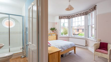 There is an en suite shower room to the master bedroom. Picture: Frost's