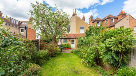 There is gated side access to the rear garden. Picture: Frost's