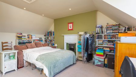 There is a sizeable fourth bedroom on the second floor. Picture: Frost's