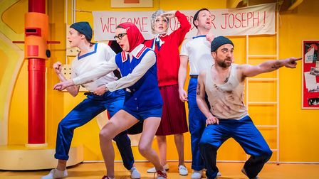 Charles Court Opera's production of H.M.S. Pinafore can be seen at The Maltings Open Air Theatre Fes
