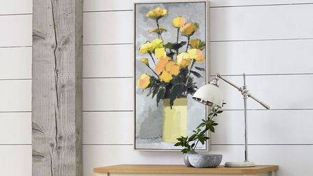 6. Artist Collection Roses by Paul Donaghy, £40, Malvern Sideboard, £299, Next. Picture: PA Photo/Ne