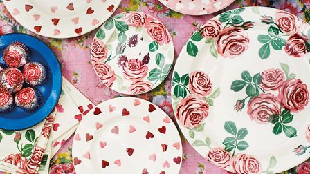 7. Emma Bridgewater Pink Roses Collection, from £14.95 for a Small Mug to £17.95 for a Dinner Plate,