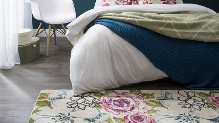 10. Villa Multi Floral Rug, from £49.99 (other items part of room set), Carpetright. Picture: PA Pho