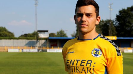 Rock band Enter: Shikari are the new sponsors of St Albans City's shirts.