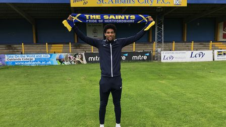 New signing Shaun Jeffers scored twice as St Albans City opened up pre-season with a win over Hashta