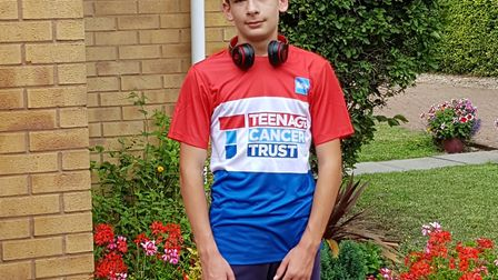Joshua Blanchard is running 100 miles in August for charity PICTURE