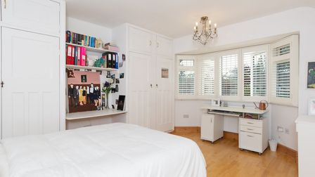 One of the property's five bedrooms. Picture: Collinson Hall