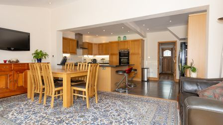 There is an open plan kitchen/diner to the rear of the property. Picture: Collinson Hall