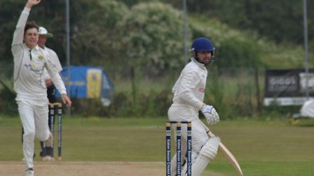 Eaton Socon (fielding) entertained Blackheath in the fourth round of the National Village Cup. Pictu