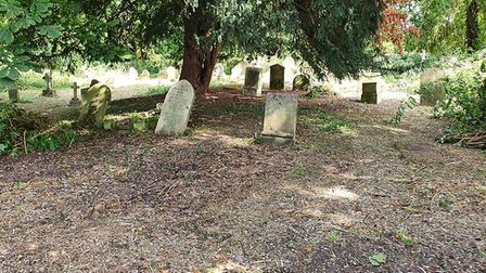 All Saints Church Graveyard in Sawtry has been restored by volunteers PICTURE: Tom Gosl