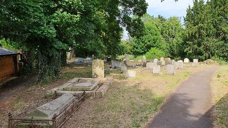 All Saints Church Graveyard in Sawtry has been restored by volunteers PICTURE: Tom Gosling