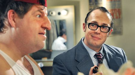 Bob Golding as Eric Morecambe in The Last Laugh, a Tommy Cooper biopic.