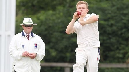 Mitchell Cooper guided Reed to their first Herts Cricket League Premier Division win. Picture: HARRY