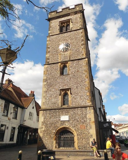 The Clock Town in St Albans, as pictured in A-Z Of St Albans