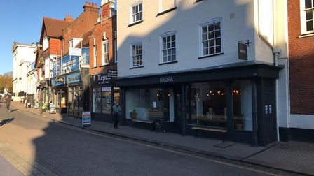 One thing St Albans isn't short of is coffee shops, with Nkora and Caffe Nero being two of many. Pic