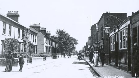 The lady in the hat on Mill Road. Picture: Mill Road History Society Cambridge Collections. Supplied