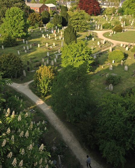 Mill Road cemetery. Picture: Kip Loades, supplied by Open Cambridge