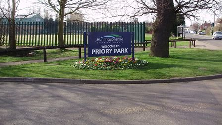 There are plans to extend the car park at Priory Park.