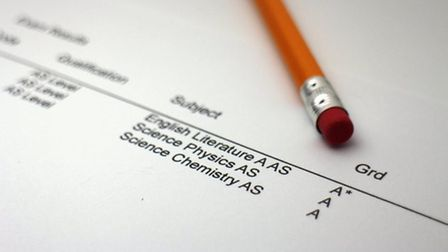 County council says there was lots of uncertainty for A-Levels students and teachers.