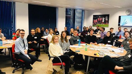 First day of NCTJ training apprenticeship. Picture: Press Association