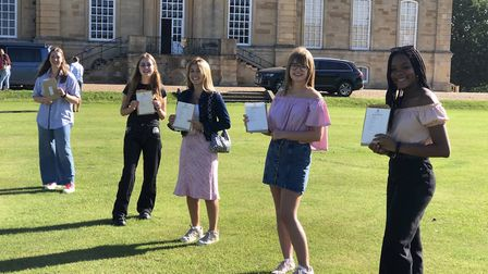 Kimbolton School pupils picked up their GCSE results