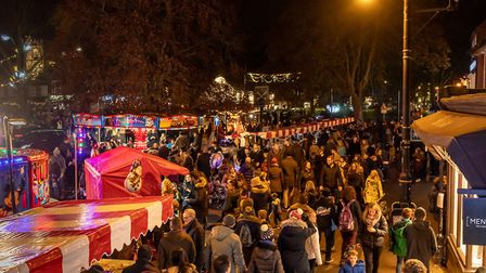 Thousands of people attended the Harpenden Christmas Carnival last year. Picture: Harpenden Photogra