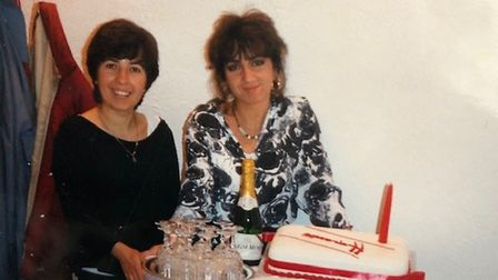 Sisters Maria and Domenica have been at the healm of their salon in St Albans since 1985. Picture: C