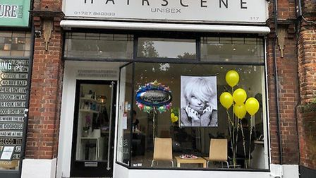 Hairscene in St Albans' St Peter's Street has marked 35 years since first opening its doors. Picture