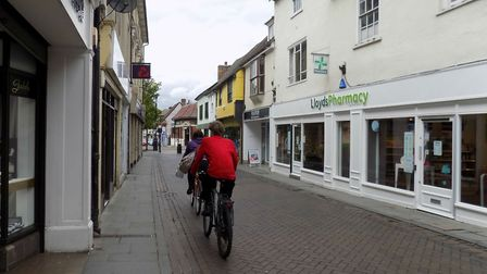 Royston High Street has been affected by a power cut. Picture: Supplied