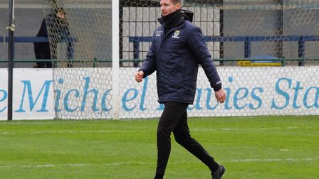 St Neots Town manager Barry Corr says his side will be far more competitive this season. Picture: DA