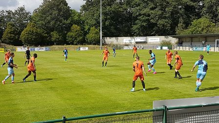 St Neots Town took on St Ives Town in a pre-season friendly at the Premier Plus Stadium.