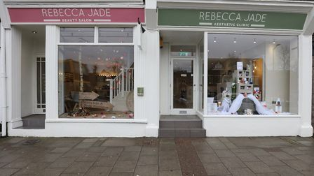 Rebecca Jade Beauty in Harpenden High Street is fighting for rent concessions after a difficult few