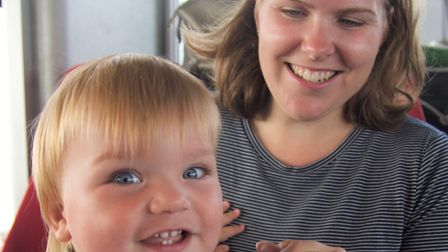 Pictured is Jennifer Bunyan and her son Oliver. Picture: CAMBS POLICE