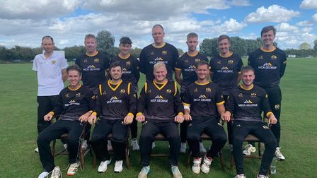 Eaton Socon before Saturday's league success over St Ives & Warboys. Picture: ROB ASHWELL