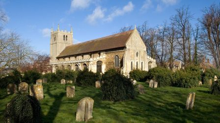 St Thomas a Becket Church, Ramsey, has been re-listed to link to Second World War. Picture: Patricia
