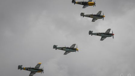 The Flying Legends Air Show at Duxford IWM. Picture: JAMIE PLUCK