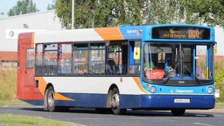 Stagecoach East's X5 Service Picture: Archant/File