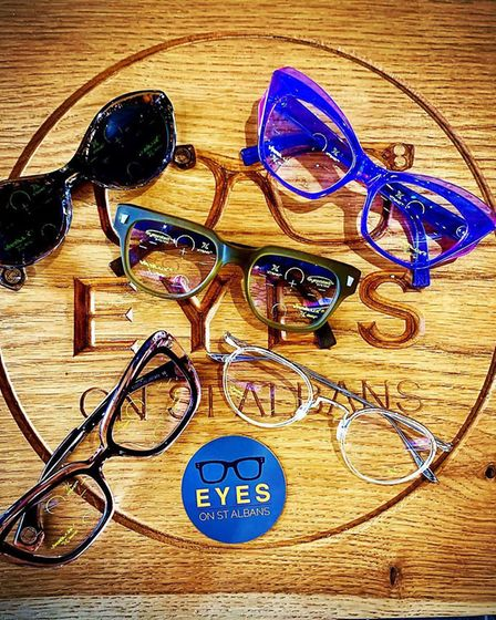 The lenses can be fitted into the frame of your existing glasses, or any frames and sunglasses avail