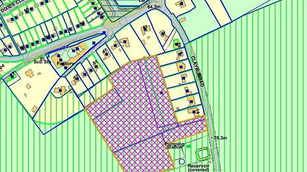 The proposals by Croudace Homes has been designed to meet the requirements of the draft policy AS1 i