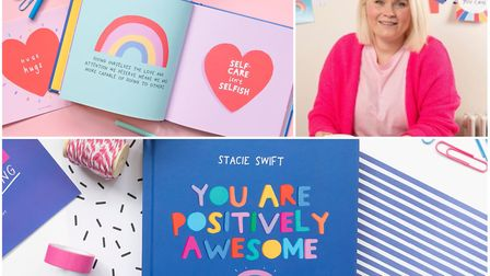 Stacie Swift's book 'You are positively awesome' is available on Amazon. Picture: Zoe Parnham Photog