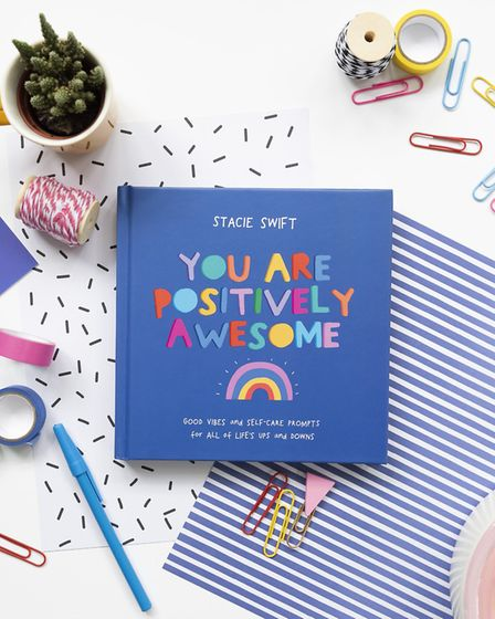 Stacie Swift's book 'You are positively awesome' is available on Amazon. Picture: Tia Talula Photogr